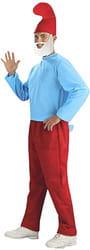 Фото Костюм Папа Смурф в красных штанах взрослый