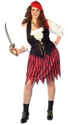 Фото Костюм Пиратка-хулиганка (большой размер) взрослый