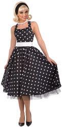 Фото Костюм Платье в стиле 50-х (чёрное) Стиляга взрослый