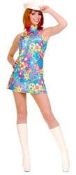 Фото Костюм Платье в стиле 60-х Хиппи взрослый