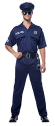 Фото Костюм Полицейский в синем взрослый