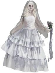 Фото Костюм викторианский Призрак невесты взрослый