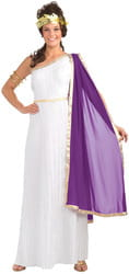 Фото Костюм Римская богиня c венком взрослый
