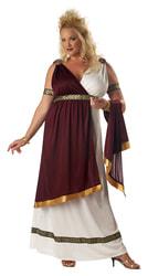 Фото Костюм Римская императрица (большой размер) взрослый