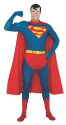 Фото Костюм Супермен (вторая кожа) взрослый