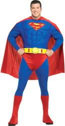 Фото Костюм Супермен Deluxe взрослый