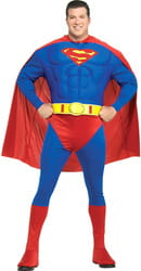 Фото Костюм мускулистый Супермен Deluxe взрослый