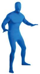 Фото Костюм Человек-невидимка вторая кожа (синий) взрослый