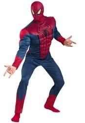Фото Костюм Человек-паук с мускулами взрослый