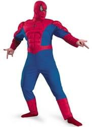 Фото Костюм Человек-Паук с мускулами (большой размер) взрослый