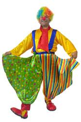 Фото Костюм Клоун в широких штанах взрослый