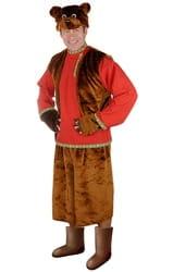 Фото Карнавальный костюм взрослый Медведь Бурый