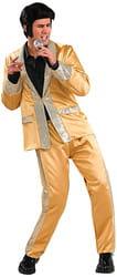 Фото Костюм Элвис в золотом костюме взрослый
