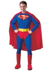 Фото Костюм Супермен с мускулатурой взрослый