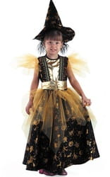 Фото Костюм Ведьма золотая детский