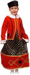 Фото Костюм Казачка в шапке детский