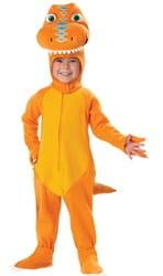 Фото Костюм Динозавр желтый детский
