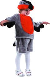 Фото Костюм Снегирь (мех) детский