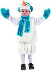 Фото Костюм Снеговик меховой детский