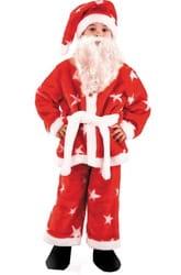 Фото Костюм Санта Клаус (плюш) детский