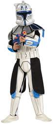Фото Костюм Клон Трупер - Капитан Рекс (Звездные войны) с накладками детский