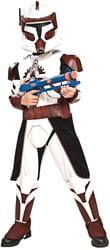 Фото Костюм Клон Трупер Коммандер Фокс с накладками (Звездные войны) детский