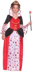 Фото Костюм Червовая королева в платье детский