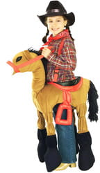 Фото Костюм Лошадь для ковбоя детский