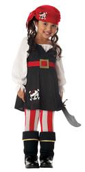 Фото Костюм Маленькая пиратка детский