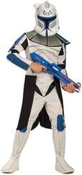 Фото Костюм Клон Трупер Капитан Рекс (Звездные войны) эконом детский