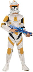 Фото Костюм Клон Трупер - Коммандер Коди (Звездные войны) эконом детский