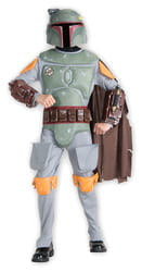 Фото Костюм Боба Фетт с накладками (Звездные войны) детский