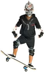 Фото Костюм Монстр-скейтбордист (черный) детский