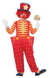 Фото Костюм Клоун в красных штанишках детский