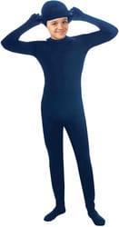 Фото Костюм Человек-невидимка (синий) детский