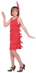 Фото Костюм Девушка из джаза в красном детский