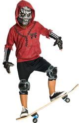 Фото Костюм Монстр-скейтбордист (красный) детский