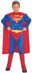 Фото Костюм Супермен мускулистый детский