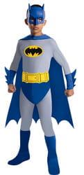 Фото Костюм Бэтмен синий классический детский