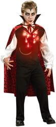 Фото Костюм Зловещий вампир (светящийся) детский