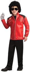 Фото Костюм Красный пиджак Майкла Джексона на молнии детский