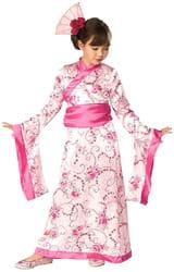 Фото Костюм Принцесса Азии в розовом кимоно детский