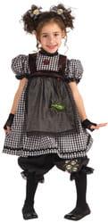 Фото Костюм Готическая кукла с бантиками для волос детский
