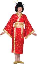 Фото Костюм Мадам Баттерфляй (кимоно) детский