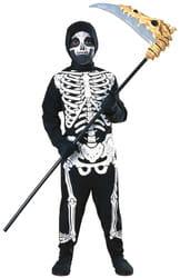 Фото Костюм Тощий скелет детский