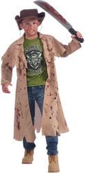 Фото Костюм окровавленный Охотник на зомби детский