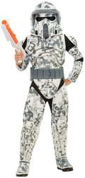 Фото Костюм Устрашающий Арф Трупер (Звездные войны) с накладками детский
