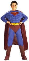Фото Костюм Супермен с мускулами deluxe детский