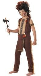 Фото Костюм Индеец из племени Ирокезов детский