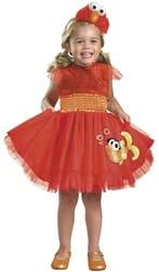Фото Костюм Элмо с Улицы Сезам в платье детский